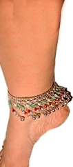 Trendy Anklets With Tiny Bells